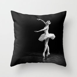 Russian Ballet Dancer 1 Throw Pillow