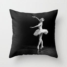 Russian Ballet Dancer 1 Throw Pillow