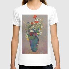 "Odilon Redon ""Vision - vase of flowers"" T-shirt"