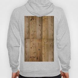 Wood Planks Dark Hoody