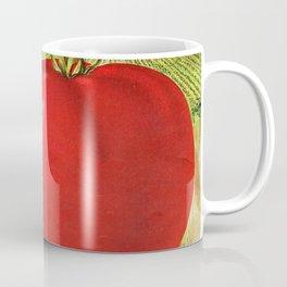Vintage Illustration of a Beefsteak Tomato (1905) Coffee Mug