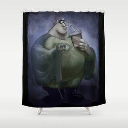Fat Boy Shower Curtain