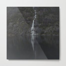 Waterfall (The Unknown) Metal Print