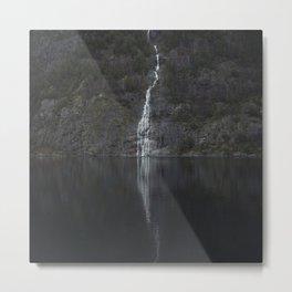 Waterfall (The Unknown) Metal Print