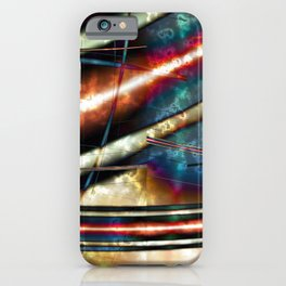 Galactic Map 1 iPhone Case