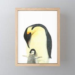 Penguins Framed Mini Art Print