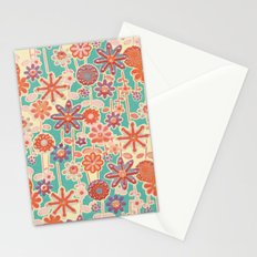 Motivo floral 2 Stationery Cards