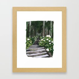Torii Framed Art Print