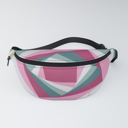 Abstract squares 2 Fanny Pack