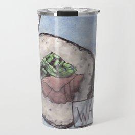 War / Raw Travel Mug