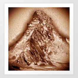 Matterhorn Mountain, Switzerland Art Print