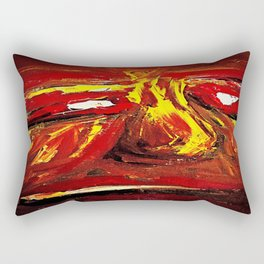 The Closest Betrayal Rectangular Pillow