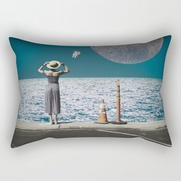 Life from another Planet Rectangular Pillow