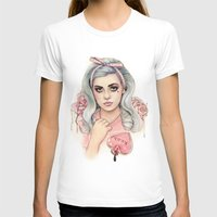 marina and the diamonds T-shirts featuring L.O.V.E | E.V.O.L by Helen Green