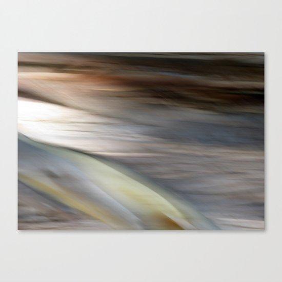 Stringy Bark Abstract Canvas Print