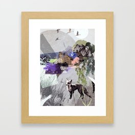 Eastern Hillside Framed Art Print