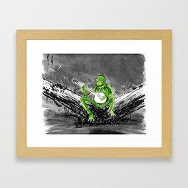 Kermit Framed Art Print