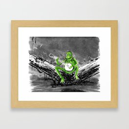 Kermit Framed Art Print