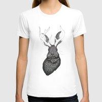 jackalope T-shirts featuring The Jackalope by ECMazur