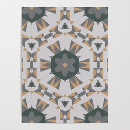 Aesthetics: abstract pattern Poster