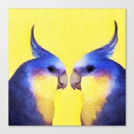 Winnie Bird Canvas Print