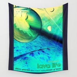 NASA Visions of the Future - Lava Life at 55 Cancri e Wall Tapestry