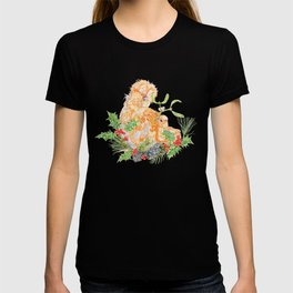 Silkie Chickens - Mistletoe Kiss T-shirt