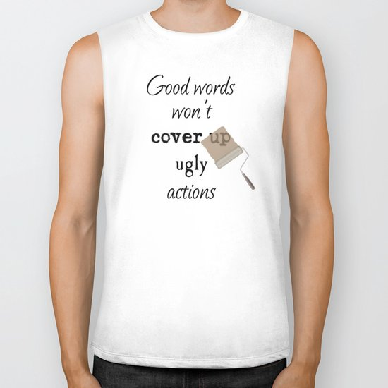 Ugly Actions Biker Tank