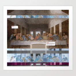 The Last Supper _review Art Print