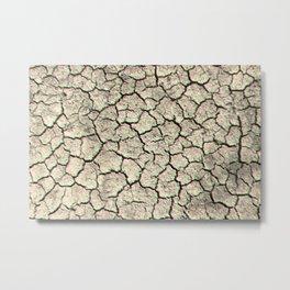 Glitchy desert Metal Print