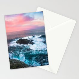 Sunset on the Bay of Biscay Stationery Cards