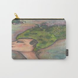 Lady of Birds Carry-All Pouch