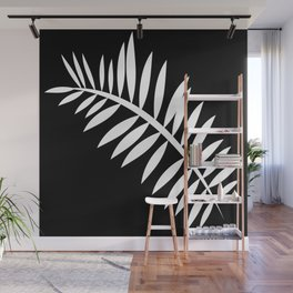 PALM LEAF WHITE LEAF Wall Mural