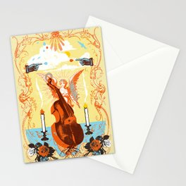 MYSTIC CELLO Stationery Cards