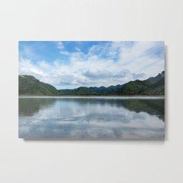 Cloud Reflections Photography Print Metal Print