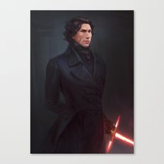 Regency AU Kylo Canvas Print