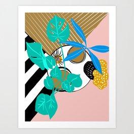 Houseplant perspective shift Art Print