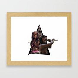 michone Framed Art Print