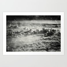 Somewhere Over The Clouds (IV Art Print