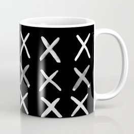 Contemporary X Paint Cross stich Pattern Coffee Mug