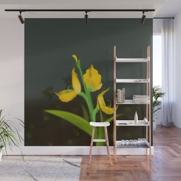 Yellow Fabaceae Wall Mural