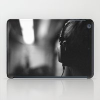 headphones iPad Cases featuring Headphones by Dan McKechnie