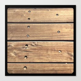 Planks. Canvas Print