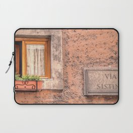 The Streets of Italy Laptop Sleeve