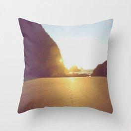 She Sells Sea Shells Throw Pillow