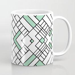 PS Grid 45 Mint Coffee Mug