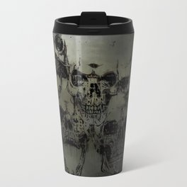 Dark abstract skull Travel Mug