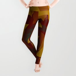 Interlocked Geometry Leggings
