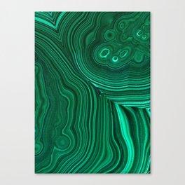 Malachite Canvas Print