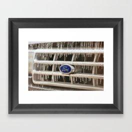 Cold Ford  Framed Art Print